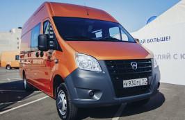 Новый фургон «ГАЗель NEXT» стал победителем премии «ТОП-5 АВТО»