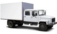 Егерь 2хрядный фургон промтоварный. На базе 3307/3309