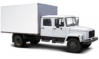 Егерь 2х рядный фургон изотермический