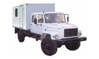 ГАЗ 3308/33081 Автомастерская 2х рядный