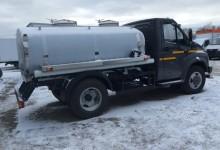 ГАЗон Некст с цистерной для перевозки молока или воды