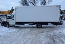 ГАЗон NEXT фургон длиной 5.1 м и 6.2 м, а так же 7.1 м