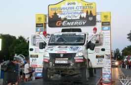 Автомобили «ГАЗель NEXT» стали победителями ралли-рейда «Великая степь – Шелковый путь 2015»