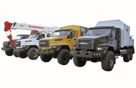 Группа ГАЗ» представляет на выставке СТТ-2016 новые модели спецтехники «Урал NEXT» для строительной отрасли