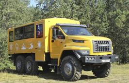 Вахтовые автобусы «Урал NEXT» с колесной формулой 6х6